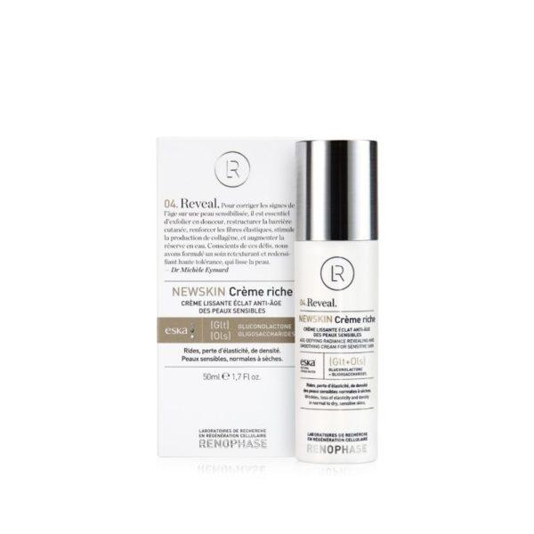NewSkin Rich - Siluv ja noorendav näokreem tundlikule nahale, 50 ml