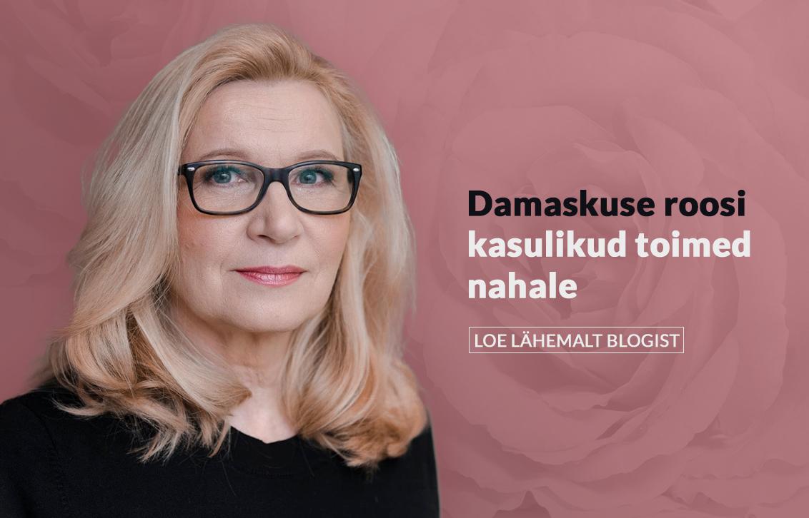 Damaskuse roos – hinnatud taim nii parfüümi-, meditsiini- kui ka toiduainetööstuses.